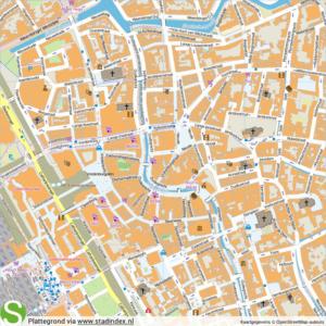 plattegrond-utrecht